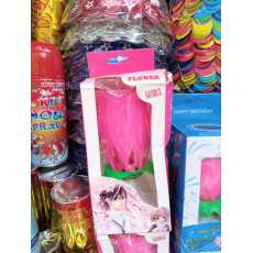 Musical Flower Birthday Candle Big Size-Non Rotatable- Party Decoration...