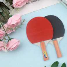 Table Tennis Set with two table tennis bat and three ball kits