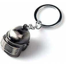 PUBG Steel Helmet Keychain