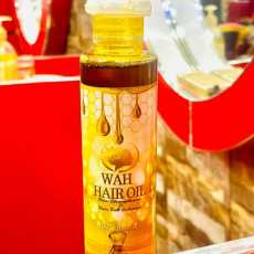 Wah organic hair Oil -Hair loss Solution for Men and Women