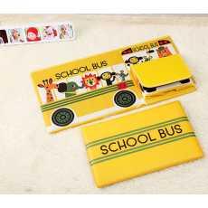 Multi-Function Bus Shape Storage Box For Toys Kids Clothes Folding Cartoon...