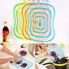 1 Pcs Non-Slip Frosted Plastic Cutting Board Kitchen Cutting Vegetable Table...