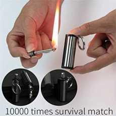 permanent Creative Matches Lighter Keychain