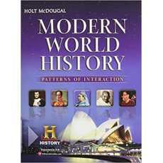 Mc Dougal Littell Modern World History Patterns Of Interaction Teacher's Edition