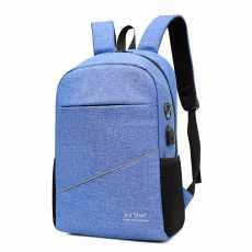 Joy Star USB Charging Business Backpack with Earphone Hole, Men Women School...