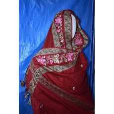 New Style Design Pure Garm Shawl Computrize Embroidery Ari Border For Corner...