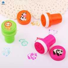 Colorful Kids Cartoon Animal Stamp Children Custom Plastic Rubber Self Inking...