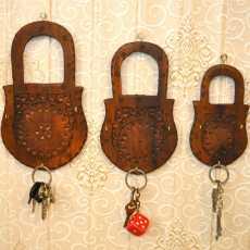 Set Of Key Holder Pack