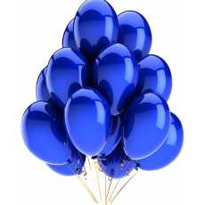 10 Color Pack of 50 -14 Inch Big Size Pearl Shape Latex  Balloons.