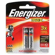 100 % Original Pack Of 2 - Super Heavy Duty Batteries AAA Energizer Cell