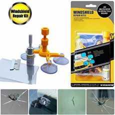 Windshield Repair Kit Quick Fix Car Cracked Glass Windscreen Tool Resin Sealer