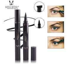 Miss Rose Liquid Eyeliner Pen Makeup Waterproof Long Lasting Fast Dry Black...