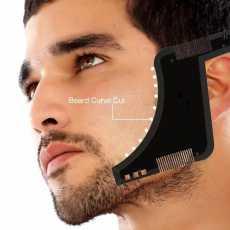 Beard Shaping Tool - 8 in 1 Comb Multi-liner Beard Shaper Template Kit -...