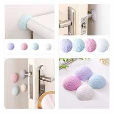 Self Adhesive Rubber Door Buffer Wall Protectors Door Handle Bumpers for Door...