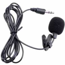 professional Lavalier Microphone for all Devices - M1 - Black