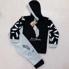 Baba/Boys Winter Thick & Warm Hoodie Suit