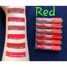 Pack of 6 __ss Rose Liquid Lipstick 24 hour Waterproof Long-Lasting Lips...