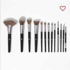 13 Brush Set Black Beautiful and Soft BH 13 Brushes set