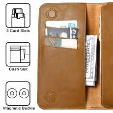 New Genuine Leather Female Cards and Money Bag Wallet