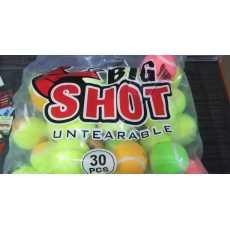 BIG SHOT Tennis Ball Pack of 12 Balls
