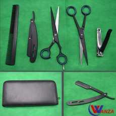 Professional Barber Kit Hairdressing Scissor Set Hair Cutting