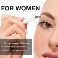 Professional Eyebrow white  Tweezers  Hair remover 3 pcs