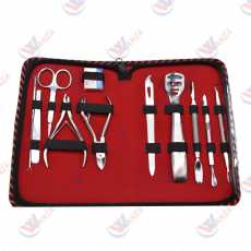Manicure Pedicure Nail Clippers Kit  With Professional Nail Tools Salon...