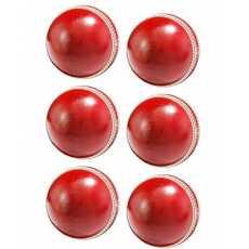 Cricket Hardball - Pack Of 6 Hard Balls