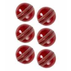 Hardball - Cricket Practicing Hard Ball - Pack Of 6