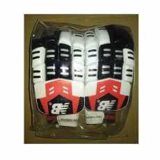 Batting Gloves - Cricket Bating Gloves-White