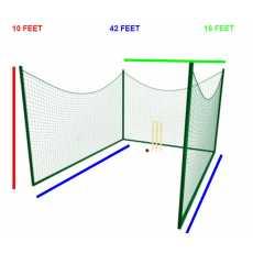 Cricket Net - 100 X 10 Feet - Outdoor Net Practicing