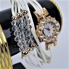 New Fashion Ladies Bracelet Watch /  Trending White Watch Style / Wrist...