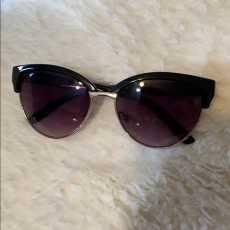H & M Fashion Cat Eye Sunglasses Women Oversized Goggles / Steampunk Vintage...
