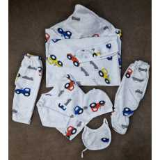Newborn Baby winter suit with wrapping sheet
