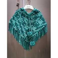 crochet baby cape shawl