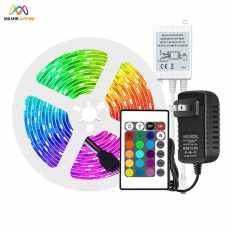 Rgb Led Strip Light Remote Control Color Changing 2835 Complete Kit, LED...