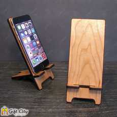 Gift Art Wooden Mobile Stand Best Gift For Office And Home