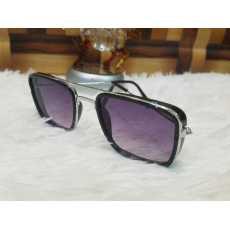 Round Shape Black Sunglasses