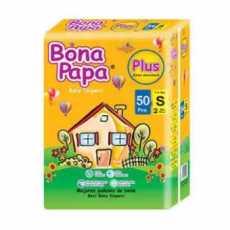 Bona papa plus diaper small size with 50 pecs