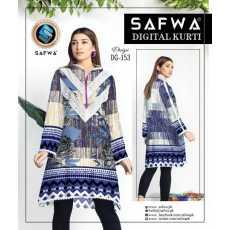 Safwa Digital Print Kurtti