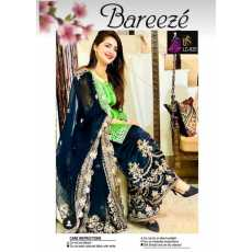 Bareeze Summer Collection 2021 Two Piece Lawn suit with Full heavy Embroidered