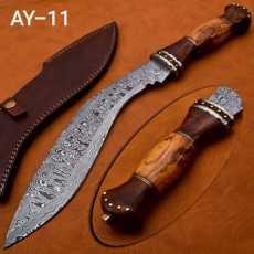 Hunting knife Damascus