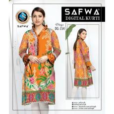 Safwa Digital Print Kurrti  154