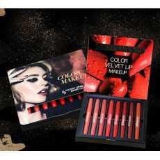 Lipstick + Lip liner 2in1 8pcs Set