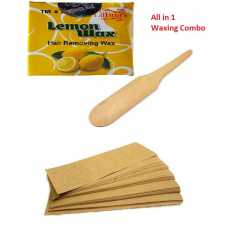 lemon Wonder wax with spatula and 100 pcs strips
