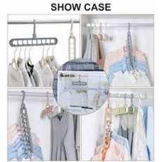 Anti-skid Rotate Folding Hanger Clothes  Multifunction  Hook Magic...