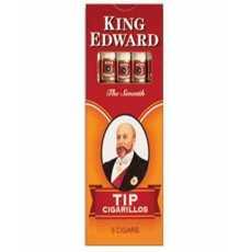 Pack of 5 - King Edward - Tip Cigarillos