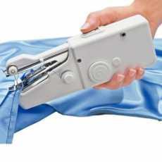Blue Ladder Mini Stitch Portable Handy Sewing Machine
