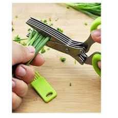 Vegetable & Fruit Cutter With 5 Layer Scissors Kitchen Utensils