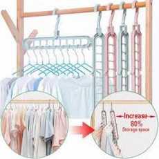 Multi port 360 Rotation Plastic Storage Clothes Hanger Space Saving Hanger...